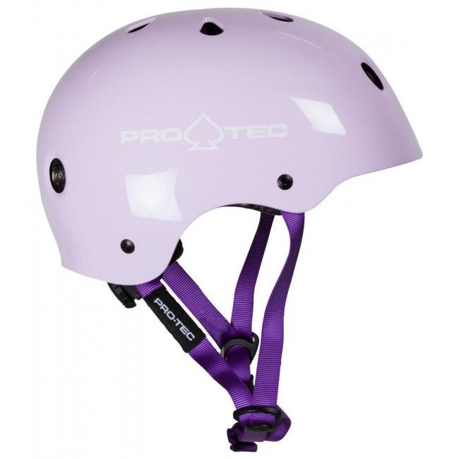 ProTec Certified Youth Helmet Gloss Purple
