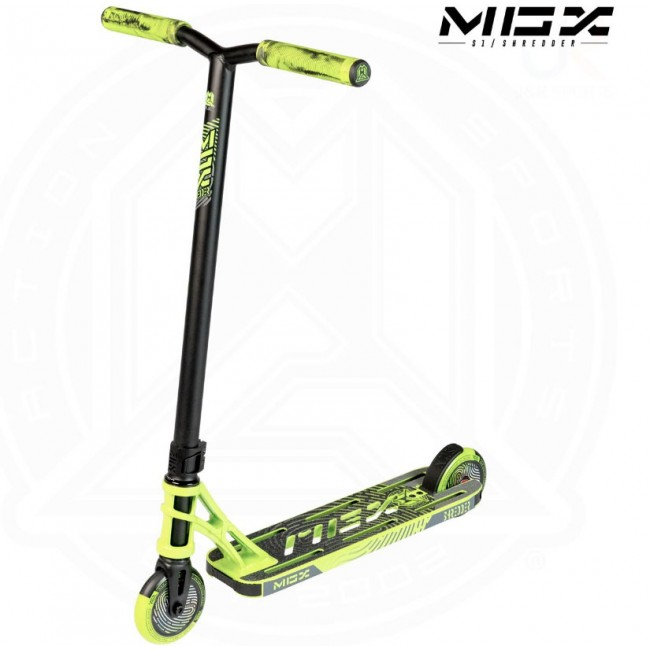MGP MGX S1 Shredder Stunt Scooter Lime/Black