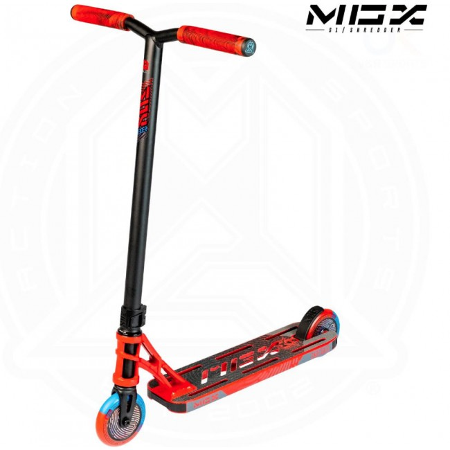 MGP MGX S1 Shredder Stunt Scooter Red/Black