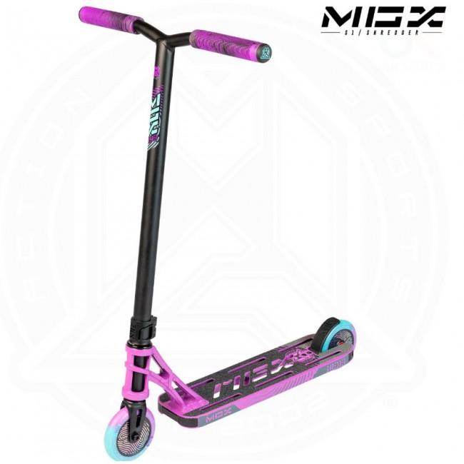 MGP MGX S1 Shredder Stunt Scooter Purple/Black