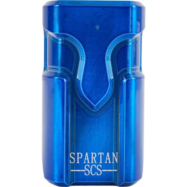 Supremacy Spartan SCS Scooter Clamp Trans Blue