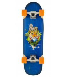 D Street Tropical Cruiser Skateboard 29.5""