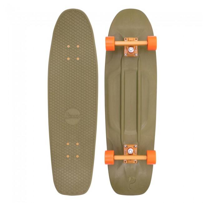 Penny Burnt Olive Cruiser Skateboard 32