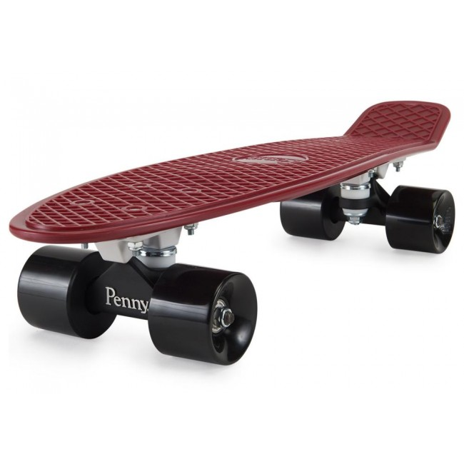Penny Burgundy Cruiser Skateboard Multi 22