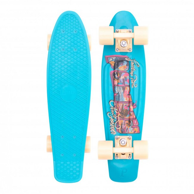 Penny Postcard Coastal Cruiser Skateboard 22