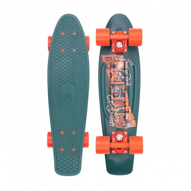 Penny Postal Highland Cruiser Skateboard Green 22