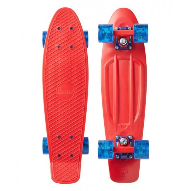Penny Red Comeet Cruiser Skateboard Multi 22