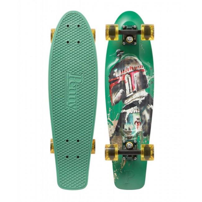 Penny Boba Fett Cruiser Skateboard Black 22