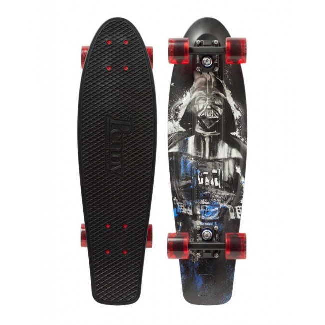 Penny Darth Vader Cruiser Skateboard Black 22