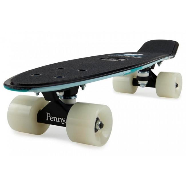 Penny Hawk Full Skull Cruiser Skateboard Blue 22