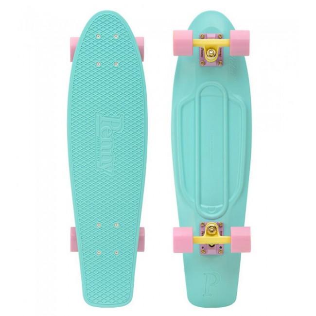 Penny Pastel Mint Cruiser Skateboard 27