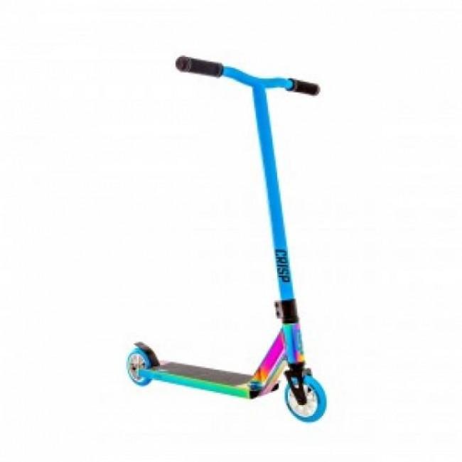 Crisp Surge Complete Stunt Scooter Colour Chrome/Blue 2019