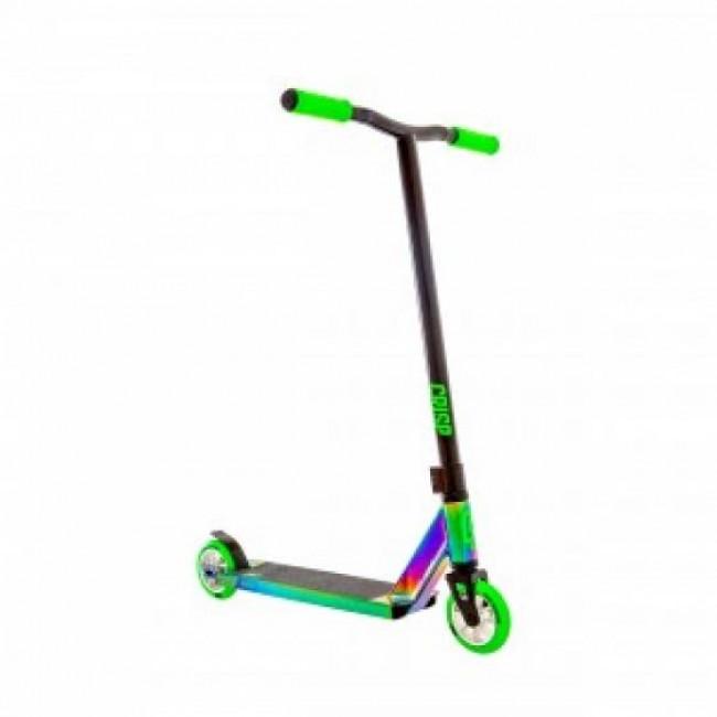 Crisp Surge Complete Stunt Scooter Colour Chrome/Green 2019