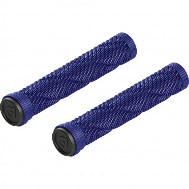 District Rope Scooter Grips Blue