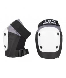 187 Fly Knee Pads Large Grey/Black/White