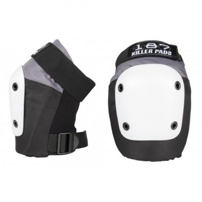187 Fly Knee Pads Grey/Black/White