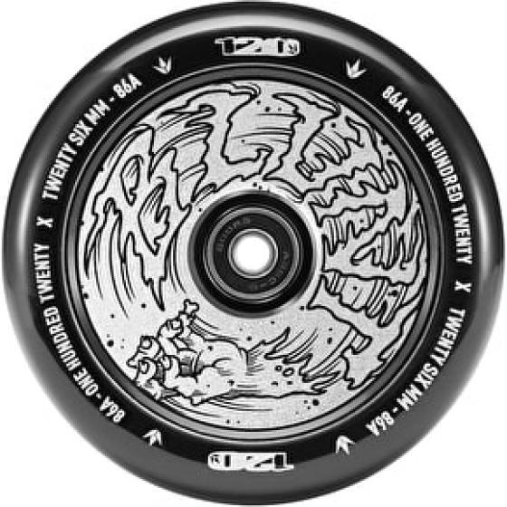 Blunt Hollow Hologram Hand Scooter Wheel 120mm
