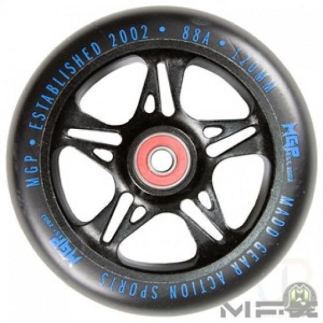 MGP MFX Fuse Scooter Wheels 120mm Black/Blue