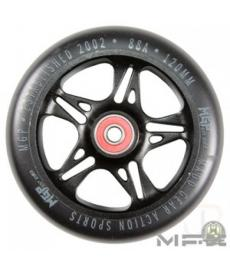 MGP MFX Fuse Scooter Wheels 120mm Black/Silver