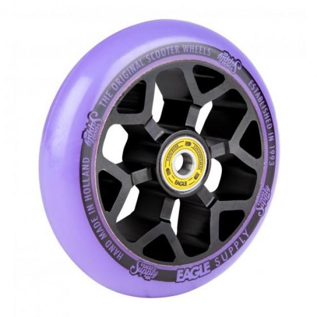 Eagle Standard 6M Core Scooter Wheel Black/Purple 110mm
