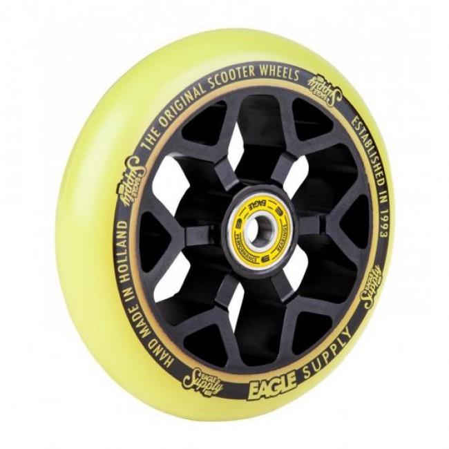 Eagle Standard 6M Core Scooter Wheel Black/Yellow 110mm