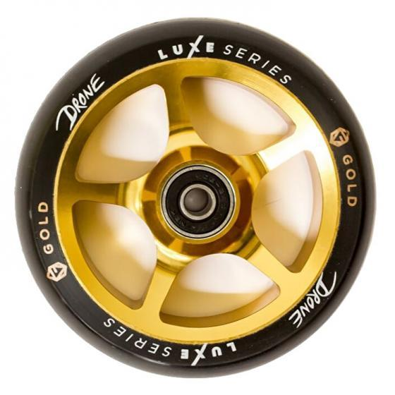 Drone Luxe Series Scooter Wheel Gold 110mm
