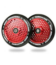 Root Industries Honey Core Scooter Wheel Black/Red 110mm