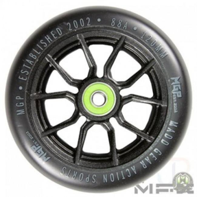 MGP MFX Syndicate AR120 Scooter Wheels Black/Black Pair