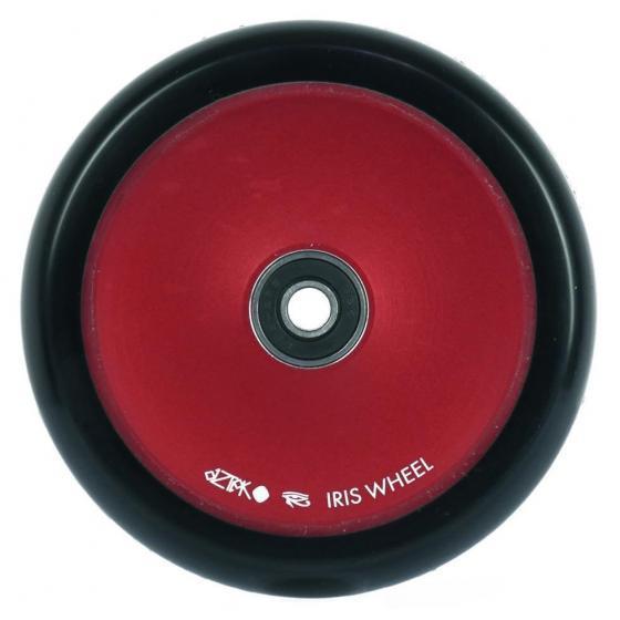 Aztek Iris Scooter Wheels Red Pair 110mm