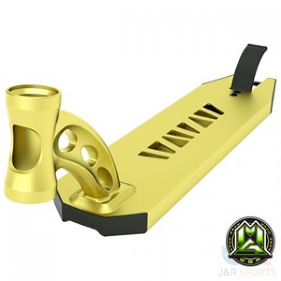 MGP VX8 Extreme Scooter Deck Gold