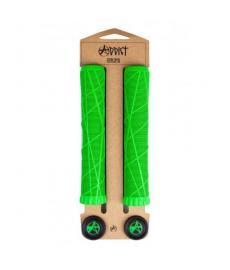 Addict OG Scooter Handlebar Grips Neon Green