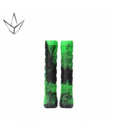 Blunt Scooter Grips Green Black V2