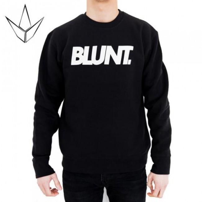 Blunt Logo Sweater Small Black