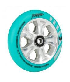 Blazer Pro Rebellion Forged Scooter Wheel Mint/Silver 110mm