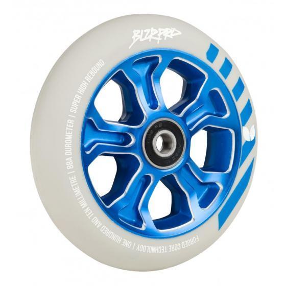 Blazer Pro Rebellion Forged Scooter Wheel Grey/Blue 110mm