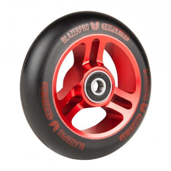 Blazer Pro Triple XT Scooter Wheel Black/Red 100mm