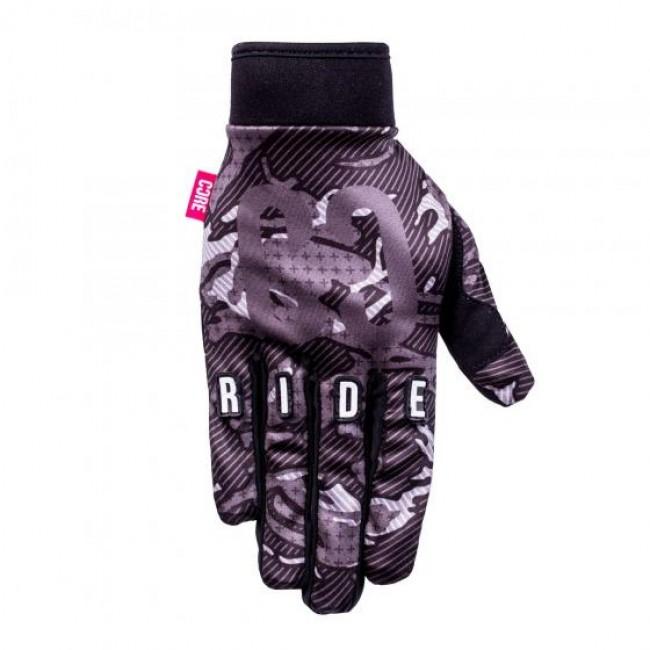 Core Protection Gloves Black Camo