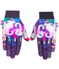 Core Protection Gloves Neon Galaxy Extra Large