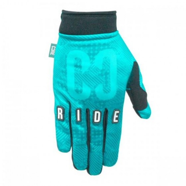 Core Protection Gloves Black Teal