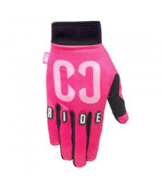 Core Protection Gloves Black Pink Extra Large