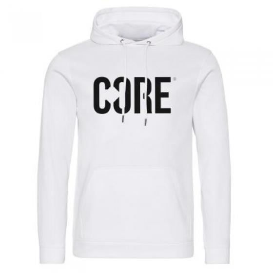 Core Performance Sport Hoodie White X Large