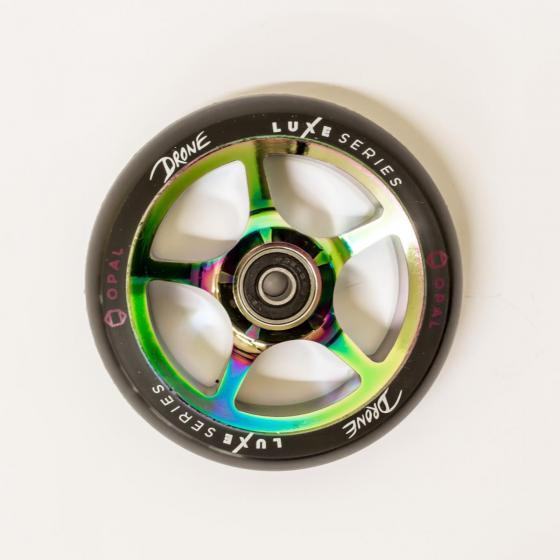 Drone Luxe Series Scooter Wheel Opal Neo Chrome 110mm