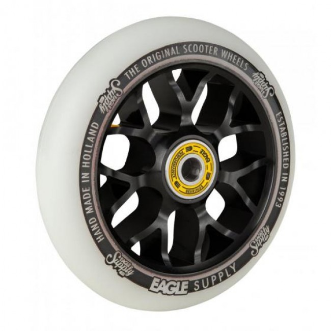 Eagle Standard X6 Core Scooter Wheel White/Black 110mm