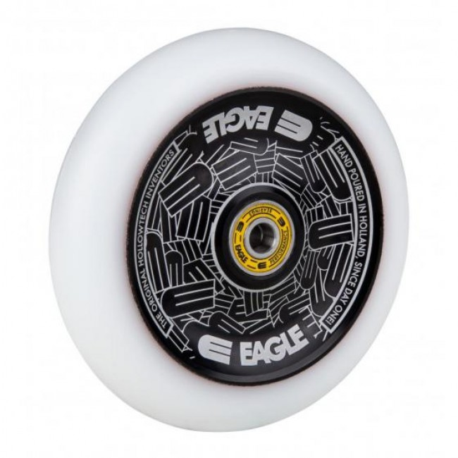 Eagle Radix Full Hollowtech Scooter Wheel Black/White Med 115mm