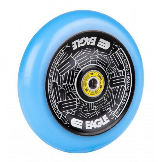 Eagle Radix Full Hollowtech Scooter Wheel Black/Blue Med 115mm