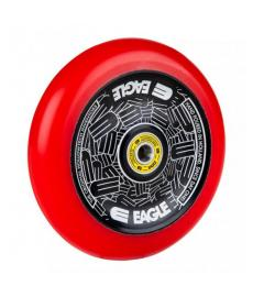 Eagle Radix Full Hollowtech Scooter Wheel Black/Red Med 115mm