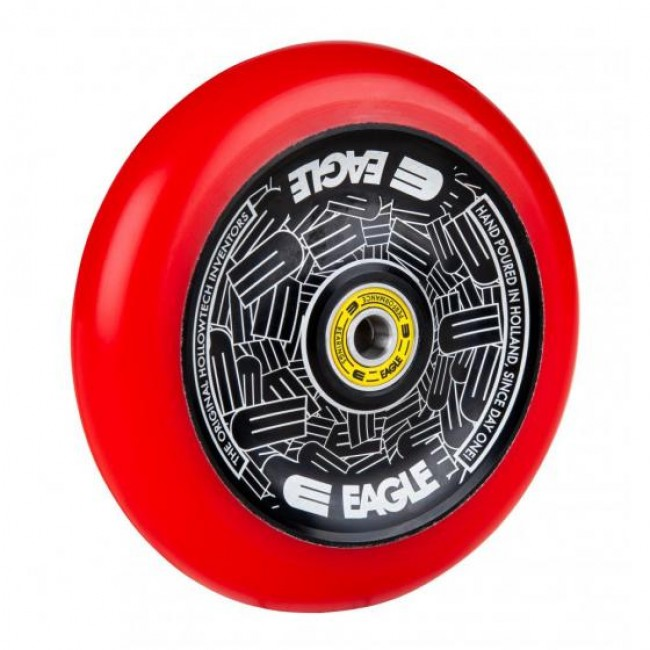 Eagle Standard Hollowtech Scooter Wheel Black/Red 115mm