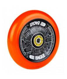 Eagle Radix Full Hollowtech Scooter Wheel Black/Orange Med115mm