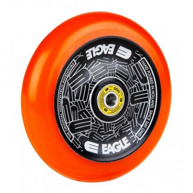 Eagle Radix Full Hollowtech Scooter Wheel Black/Orange Med115mm