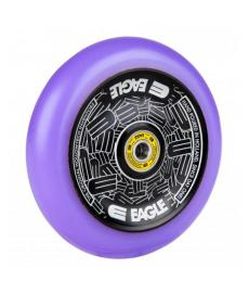 Eagle Radix Full Hollowtech Scooter Wheel Black/Purple Med 115mm